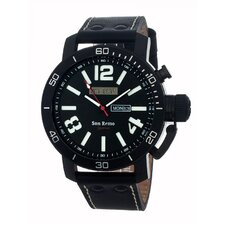 San Remo Men's Watch with Black Band