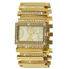 Beverly Hills Ladies Watch with Gold Band
