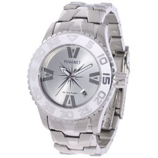 H2O Lady Ladies Watch with Silver Band and White Bezel