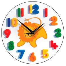 Friendly Lion Children's Wall Clock