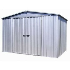 HighLander 10'W x 10'D Steel Storage Shed