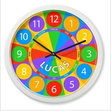 "Numbers 12"" Personalized Wall Clock"