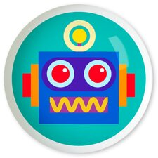"<strong>Olive Kids</strong> Robots 1.5"" Round Knob (Set of 2)"