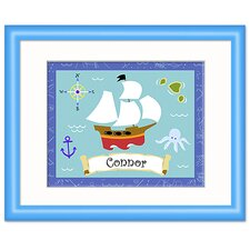 Pirates Personalized Framed Print