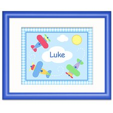 Up and Away Personalized Framed Art