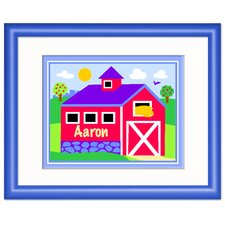 Country Farm Personalized Framed Art