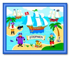 Pirates Large Personalized Print