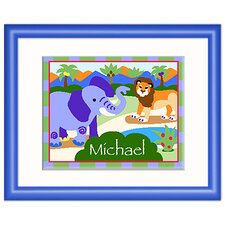 Wild Animal  Personalized Framed Art