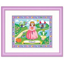Happily Ever After Personalized Framed Art