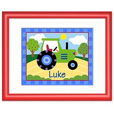 Truck Personalized Framed Art