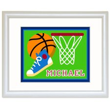Game On Basketball Print