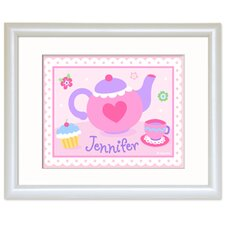 Tea Party Personalized Framed Art