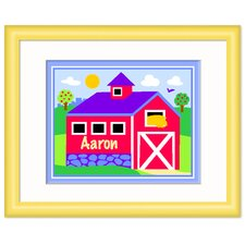 Country Farm Personalized Print