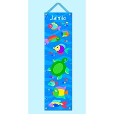 <strong>Olive Kids</strong> Something Fishy Personalized Growth Chart