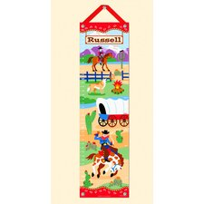 <strong>Olive Kids</strong> Ride 'em Personalized Growth Chart