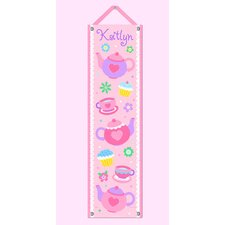 <strong>Olive Kids</strong> Tea Party Personalized Growth Chart