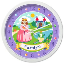 "<strong>Olive Kids</strong> Happily Ever After 12"" Personalized Wall Clock"