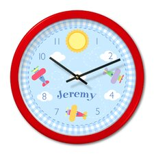 Up and Away Personalized Clock