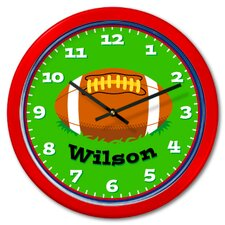 Football Personalized Clock