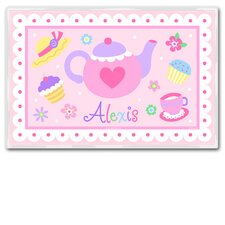 Tea Party Personalized Placemat
