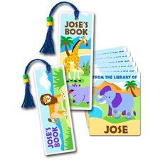 Wild Animals Lil' Readers Kit