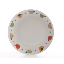 Chirpy Chicks 26cm Dinner Plate in White