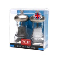 <strong>David Mason Design</strong> Mercury 11.5cm Salt and Pepper Mill Set