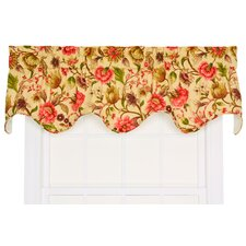 "Vareen Lined Scallop 68"" Curtain Valance"
