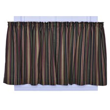 <strong>Ellis Curtain</strong> Montego Stripe Cotton Tier Curtain