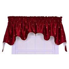 "Fleur Di Lis 2 Piece 100"" Curtain Valance Set"