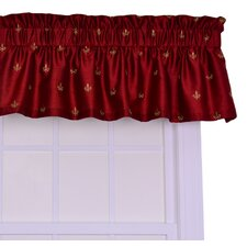 <strong>Ellis Curtain</strong> Fleur Di Lis Valance Window Curtain