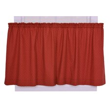 <strong>Ellis Curtain</strong> Tremblay / Tyvek Cotton Diamond Tier Curtain