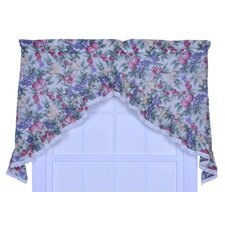 Kitchen Harvest Fruit Cotton Blend Rod Pocket Swag Curtain Valance