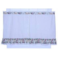 Kitchen Harvest Fruit Cotton Blend Tier Curtain