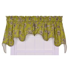 Jeanette Cotton Lined Duchess Valance Window Curtain