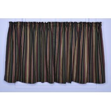 Montego Stripe Tier Curtain