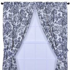 Victoria Park Toile Window Treatment Collection