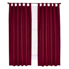 Crosby Insulated Tab Top Foamback Curtains Single Panel