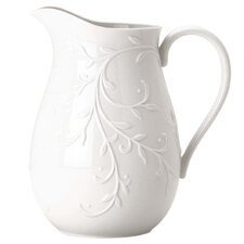 <strong>Lenox</strong> Opal Innocence Carved Pitcher