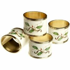 Holiday Nouveau Napkin Ring (Set of 4)
