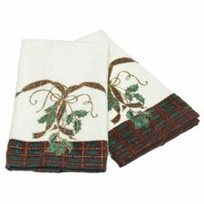 Holiday Nouveau Fingertip Hand Towel (Set of 2 )