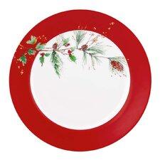 """Winter Song 11.25""""  Dinner Plate (Set of 4)"""
