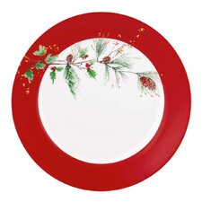 "Winter Song 11.25""  Dinner Plate"