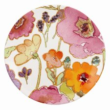 "Floral Fusion 9"" Coupe Accent Plate"