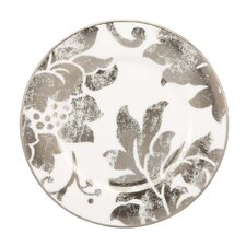 Silver Applique Butter Plate