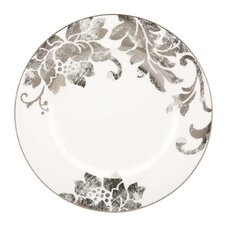 <strong>Lenox</strong> Silver Applique Dinner Plate