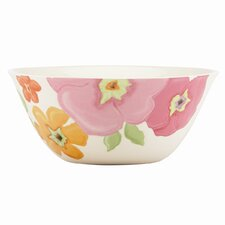 "Floral Fusion Flower 9.5"" Serving Bowl"