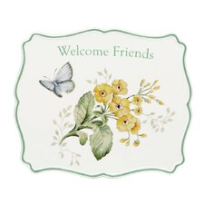 Butterfly Meadow Sentiment Trivet Friend