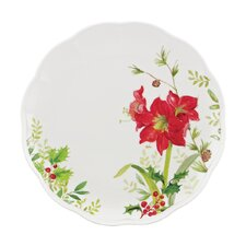 Winter Meadow Amaryllis Dinner Plate