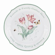 "<strong>Lenox</strong> Butterfly Meadow 12"" Sentiment Platter"